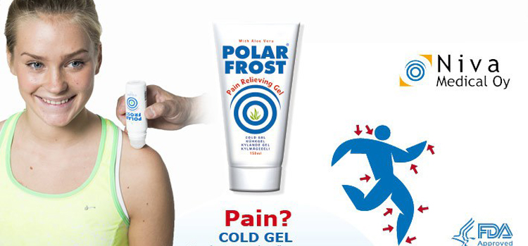 polar frost product page