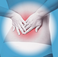 lowerback pain woman