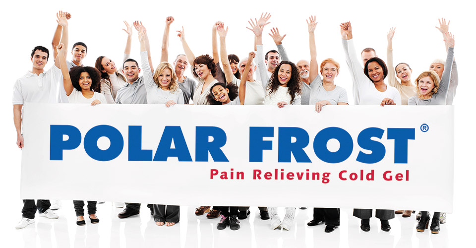 Polar Frost painrelieving gel