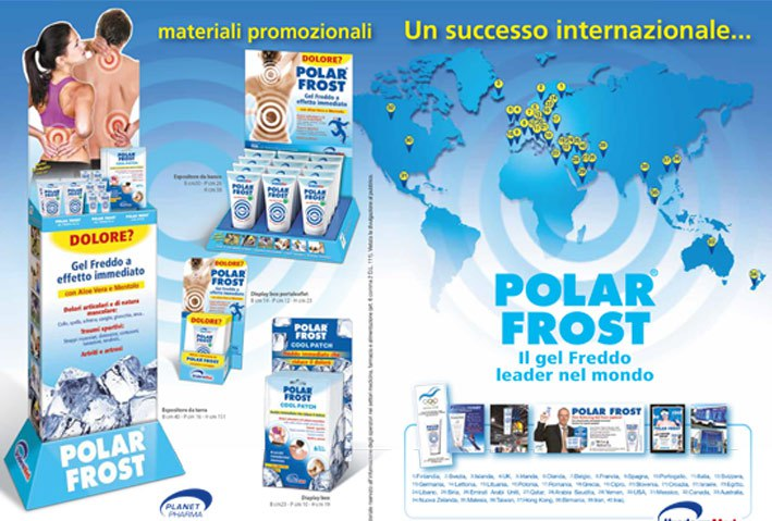 Marketing Polar Frost Display