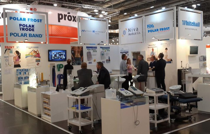 Tradeshow at the Medica in Germany