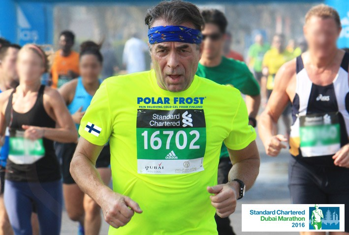 Marketing Polar Frost Dubai Marathon