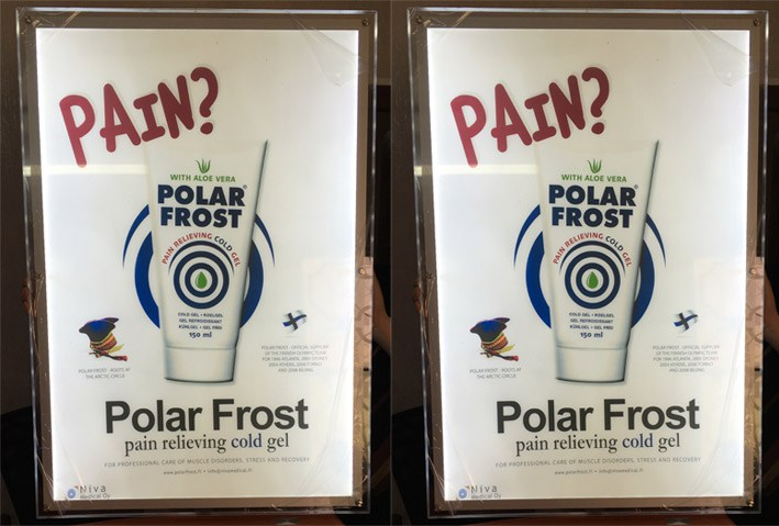 Marketing Polar Frost Iraq