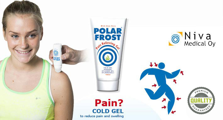Polar Products, treatment with polar frost