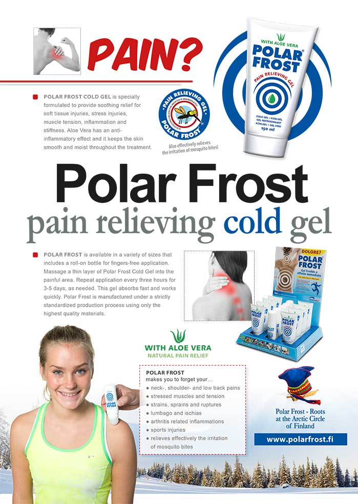 Polar Frost Cold Gel