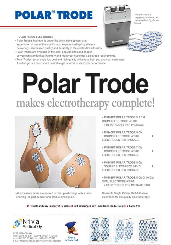 Polar Electrodes electrotherapy