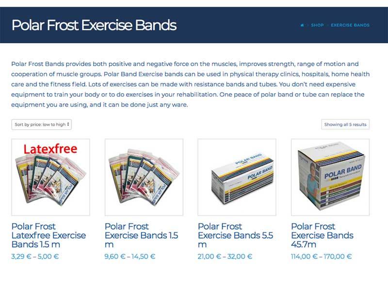 Polar Frost Webshop